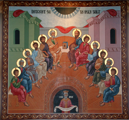 "Pentecost icon - which one is ""correct""?"